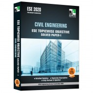 ESE 2020 - Civil Engineering ESE Topicwise Objective Solved Paper 1
