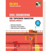ESE 2018 - Civil Engineering ESE Topicwise Objective Solved Paper - 1