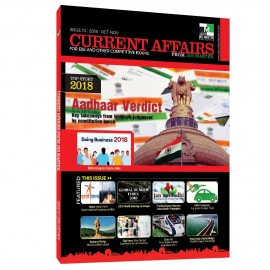 Current Affairs for ESE and Other Competitive Exams (ISSUE 10| 2018 |Oct-Nov)