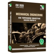 ESE 2020 - Mechanical Engineering ESE Topicwise Objective Solved Paper - 2