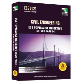 ESE 2021 - Civil Engineering ESE Topicwise Objective Solved Paper 1