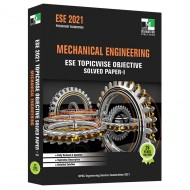 ESE 2021 - Mechanical Engineering ESE Topicwise Objective Solved Paper - 1
