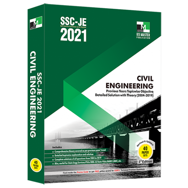 SSC-JE 2021 Civil Engineering Previous Years Topic wise Objective Detailed Solution with Theory