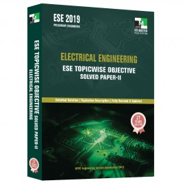 ESE 2019 - Electrical Engineering ESE Topicwise Objective Solved Paper - 2