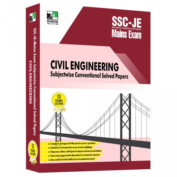 SSC-JE Mains Civil Engineering Subjectwise Conventional Solved Papers