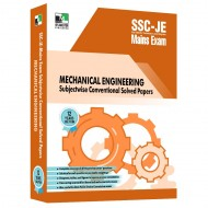 SSC-JE Mains Mechanical Engineering Subjectwise Conventional Solved Papers