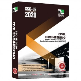 SSC-JE 2020 Civil Engineering Previous Years Topicwise Objective Detailed Solution with Theory